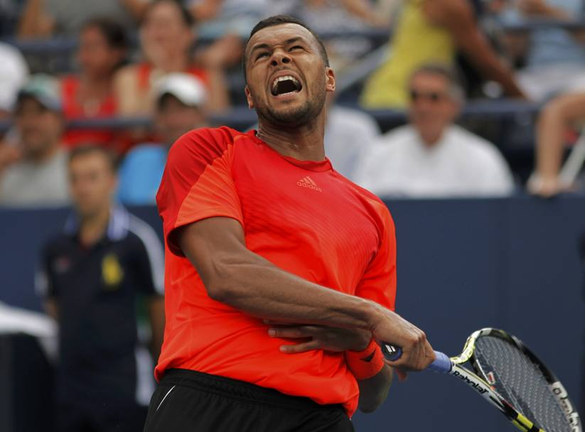 Jo-Wilfried Tsonga. Action Images