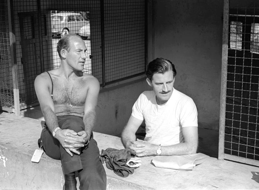 1962: Stirling Moss e Graham Hill (Publifoto/Olycom)