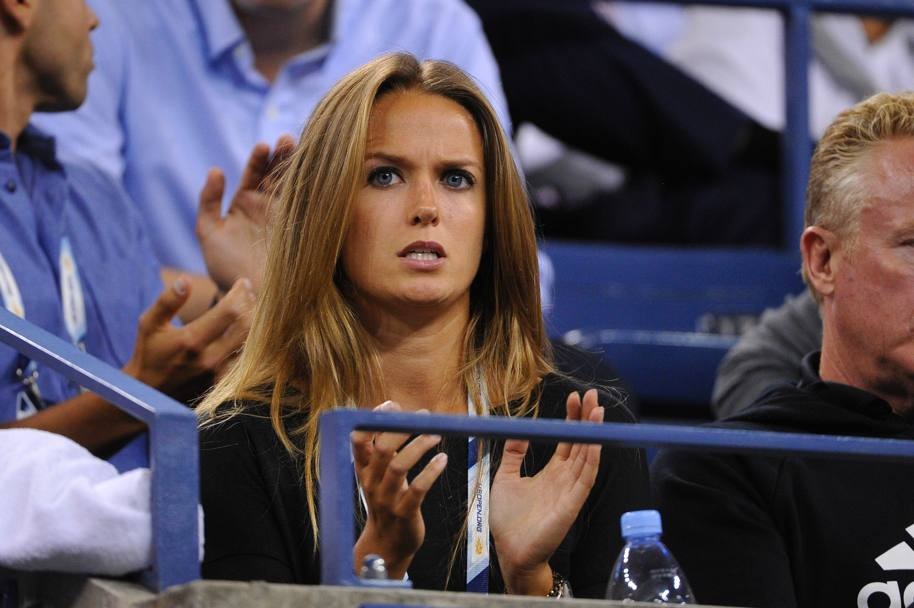 Kim Sears, la fidanzata di Andy Murray (Olycom)