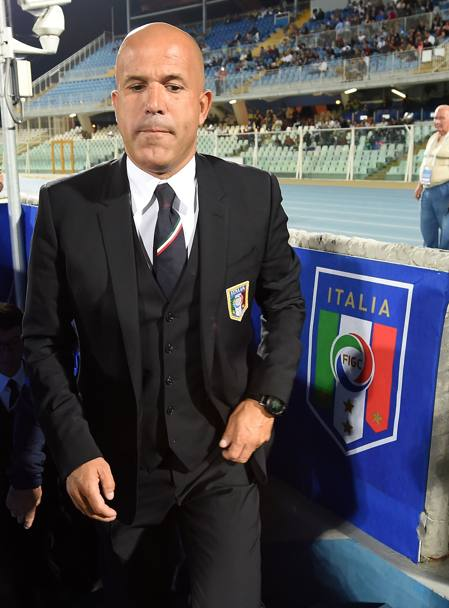 Un preoccupato Gigi Di Biagio. Getty Images