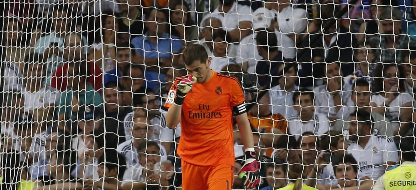 La delusione di Casillas. Reuters