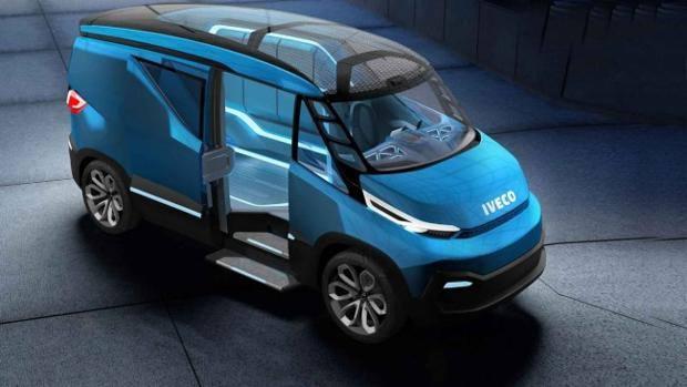 Iveco Vision concept, il furgone di domani è ibrido - La ...