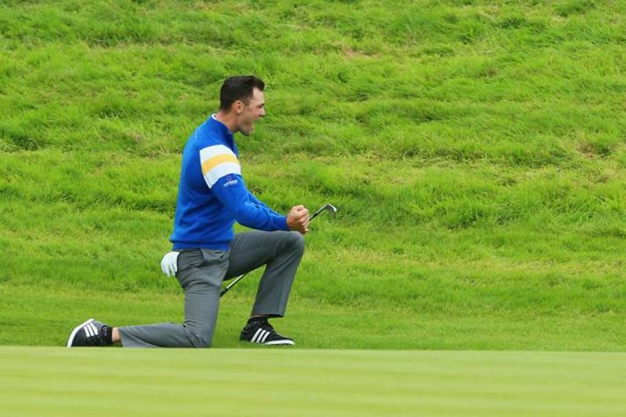 Martin Kaymer. Getty