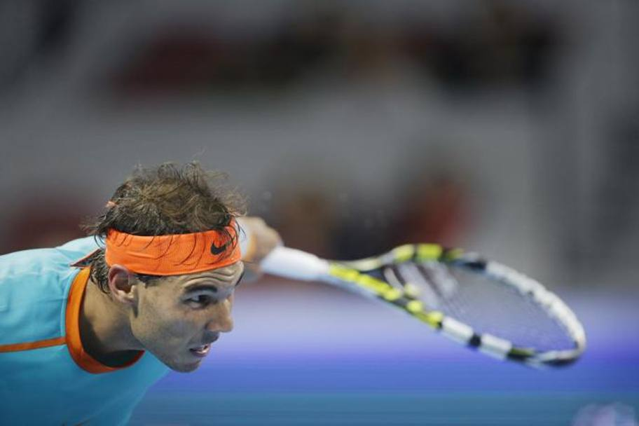 Rafa Nadal, battuto nei quarti di finale del China Open di Pechino dallo slovacco Klizan 6-7(7) 6-4 6-3