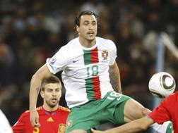 Hugo Almeida, attaccante 30enne portoghese. Reuters