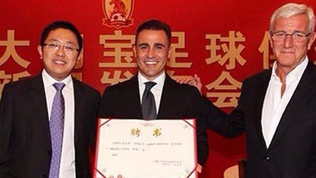 Ufficiale: Cannavaro succede a Lippi sulla panchina del Guangzhou ...