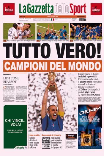 1997-2006: TUTTO VERO! Gioie e dolori di un'epoca - La Gazzetta ...