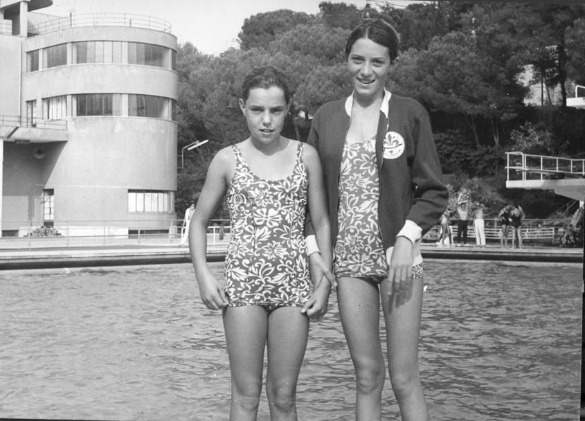 Nuoto novella calligaris compie 60 anni la gazzetta dello sport con novella con francesca cianchi nel 1969 thecheapjerseys Choice Image