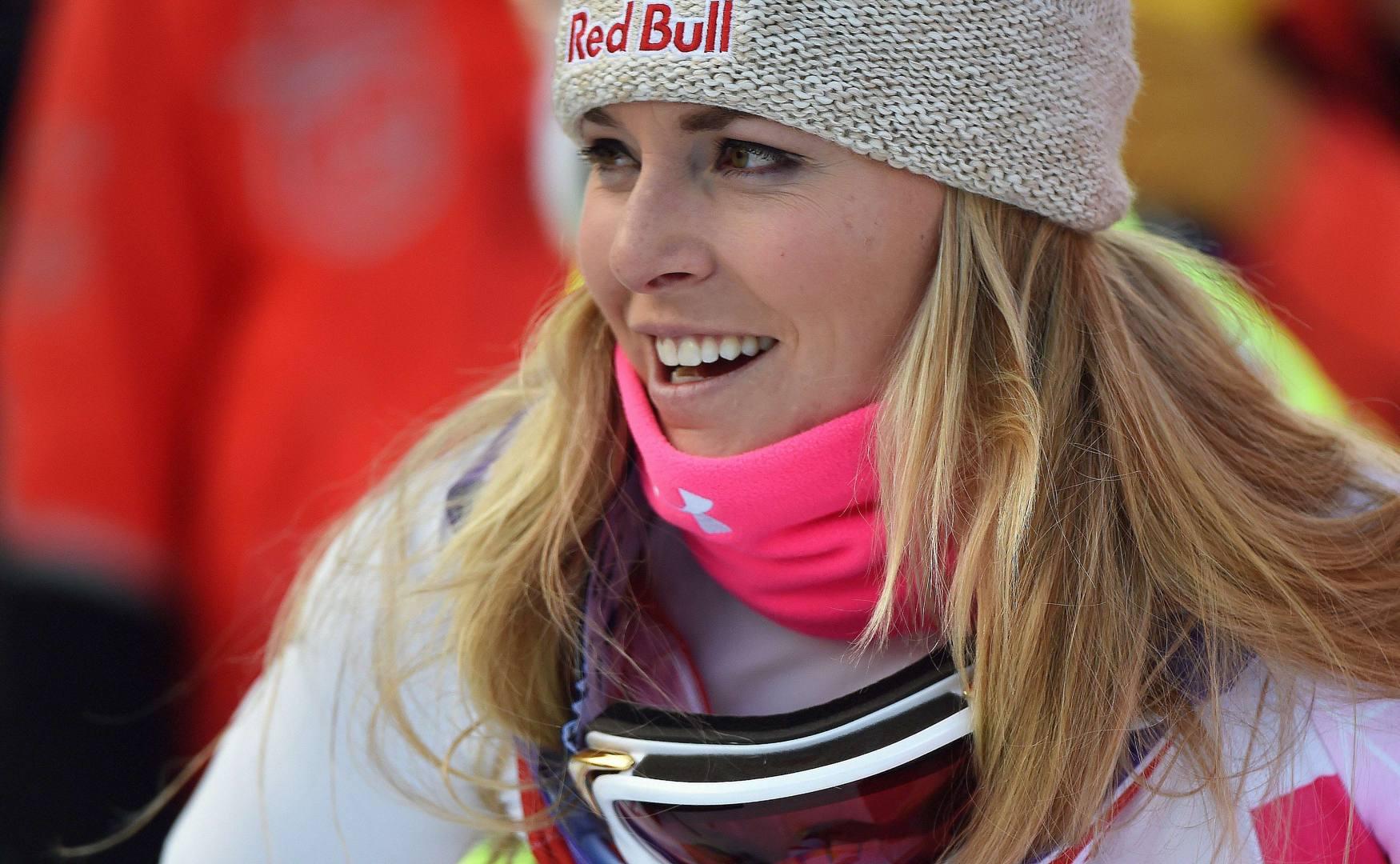 Lindsey Vonn, selfie col vitellino - La Gazzetta dello Sport