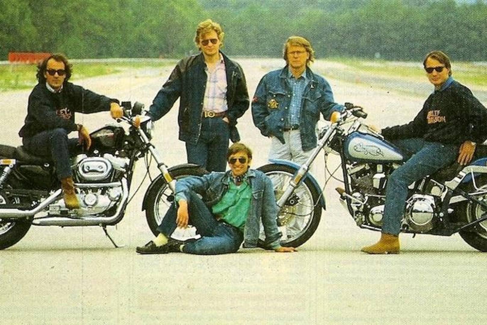Harley Davidson I 30 Anni Di Numero Uno La Gazzetta