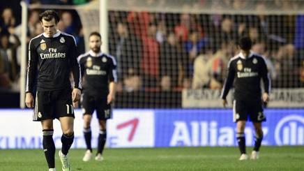 Liga, Real Madrid k.o. dopo 22 vittorie. Ma perde anche il Barcellona