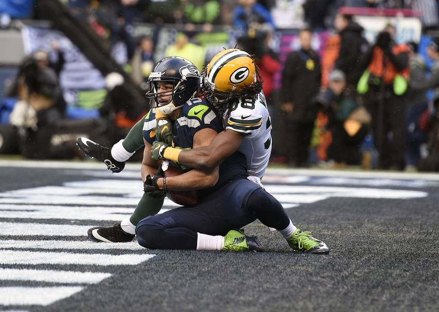 Finali di conference Nfl:  Seattle vince con Green Bay e difenderà il titolo al Super Bowl del 1° febbraio (Action Images)