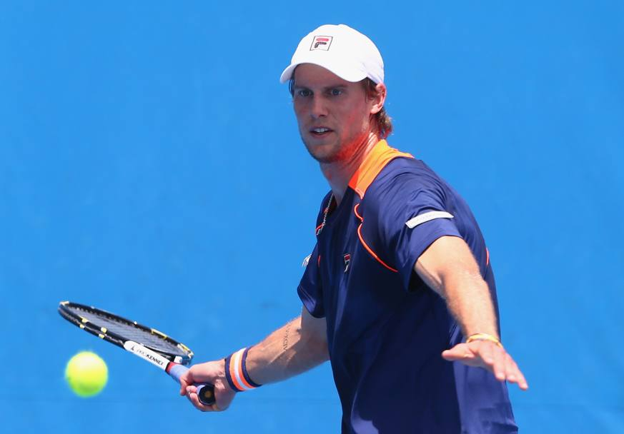 Andreas Seppi contro Denis Istomin (Getty Images)