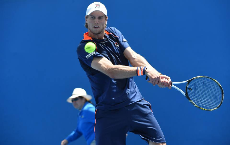 Andreas Seppi contro Denis Istomin (Afp)