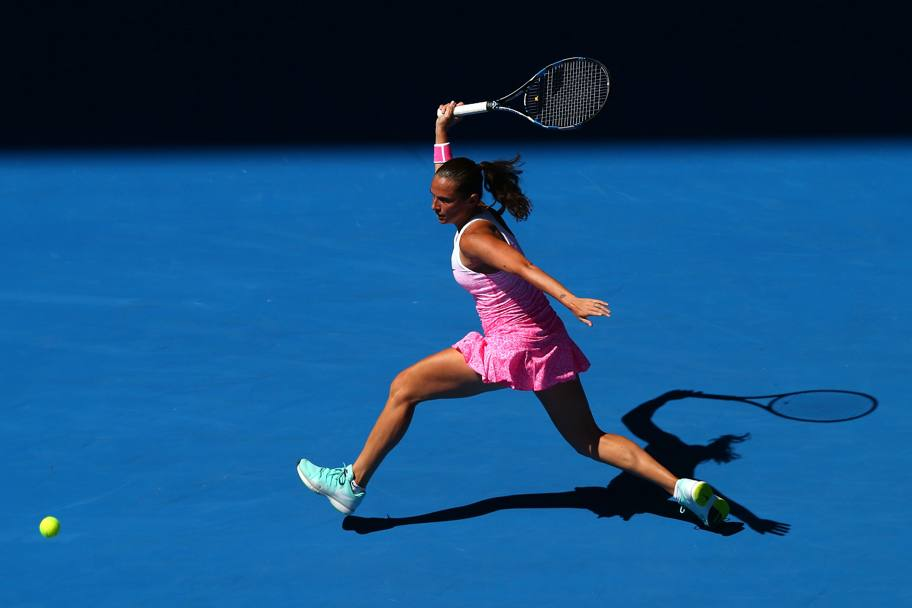 Roberta Vinci in azione (Getty Images)