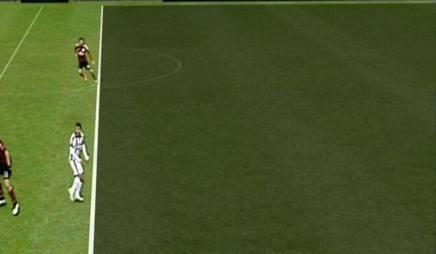 """Così il software """"Piero"""" ha detto ok alla posizione di Tevez sul gol dell'1-0"""