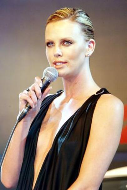 Charlize Theron nel 2003. (Afp)