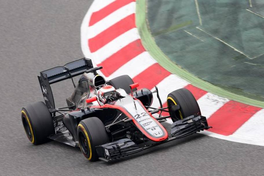 Button su McLaren Honda. Getty Images