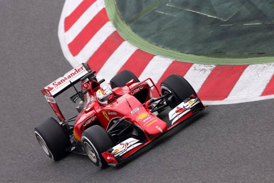 Vettel: 3° tempo in mattinata. Getty Images