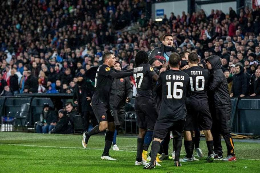 Roma - Feyenoord 2014-2015