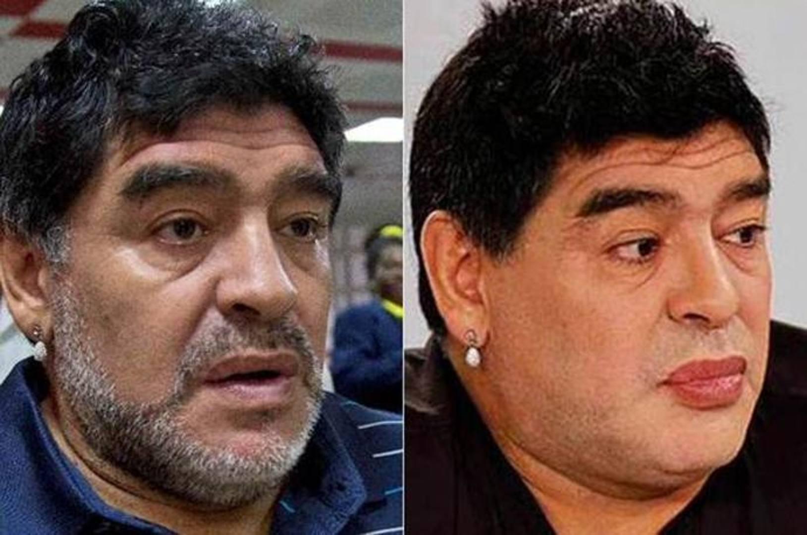 Maradona, il lifting e gli sfottò in Argentina - La ...