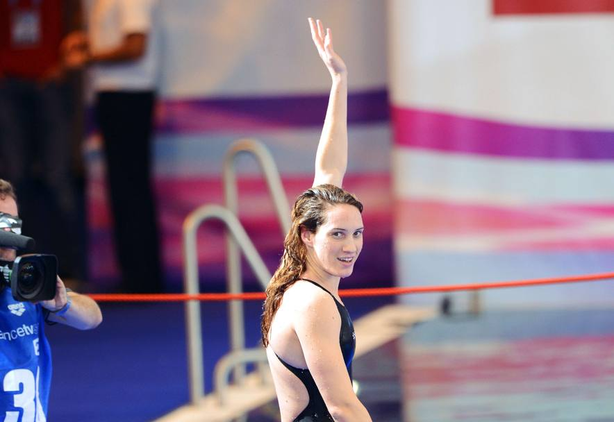Europei di nuoto 2012 a Chartres (AFP)