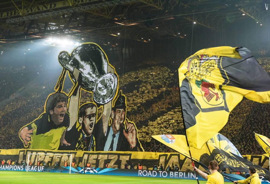 Tevez Sfonda Il Muro Giallo  Festa Juve A Dortmund