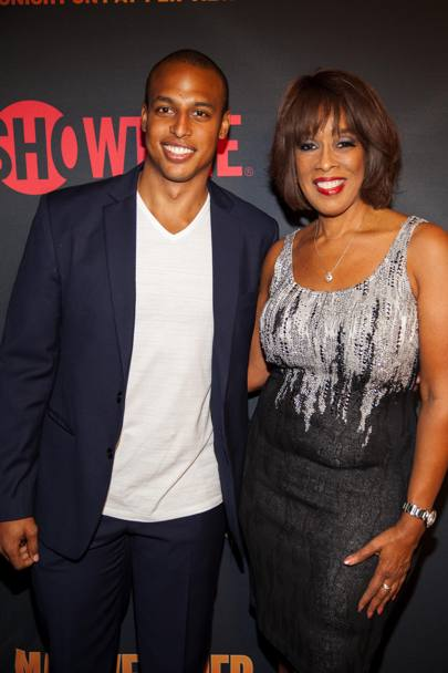 Red carpet: Will Bumpus e Gayle King. Ap