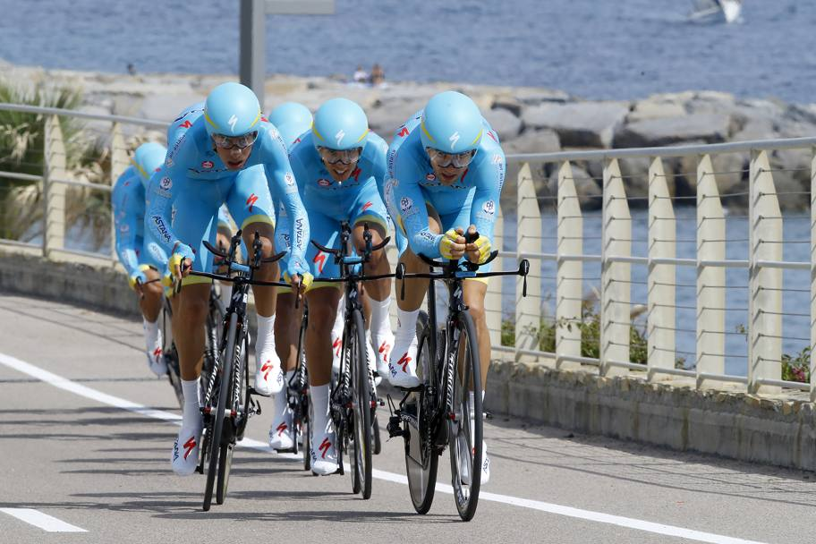 L'Astana di Fabio Aru. Bettini