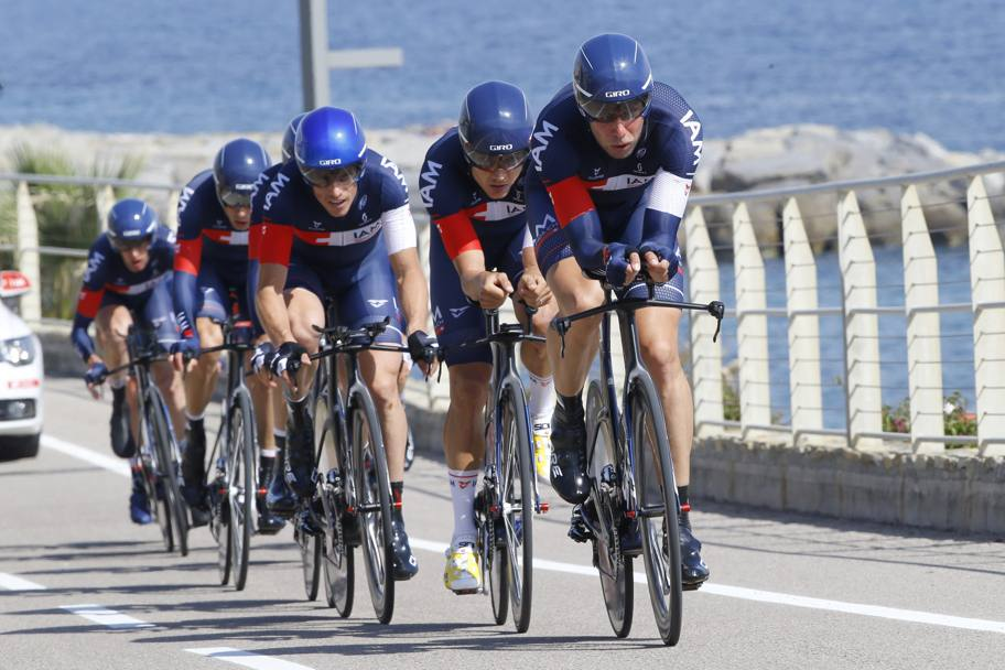 La svizzera IAM Cycling ha chiuso sesta. Bettini