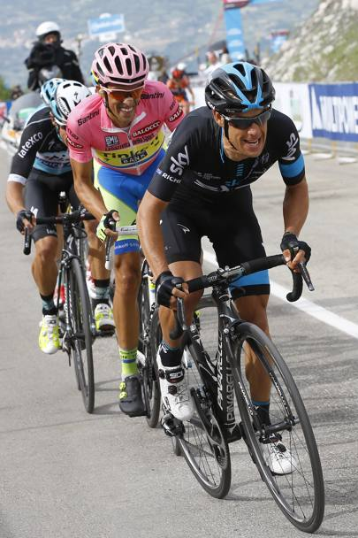 Anche Porte prova ad incendiare la corsa. Bettini