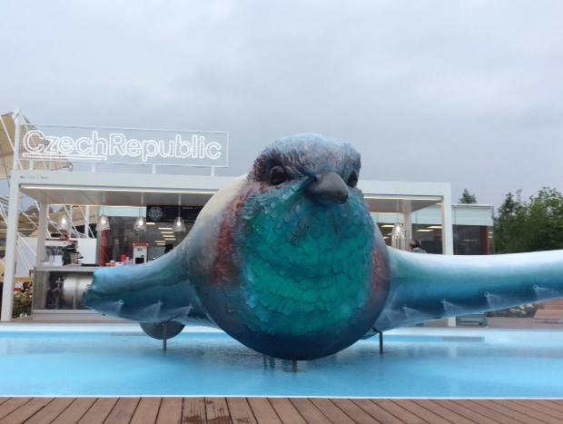Expo il padiglione della repubblica ceca tra for Piani del padiglione della piscina