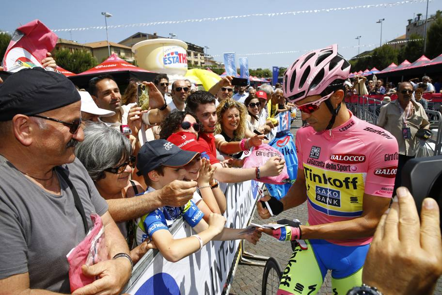 Contador forma autografi... Bettini