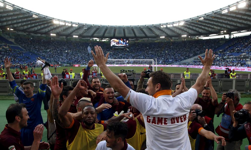 Game over: la Roma chiude seconda. Action Images