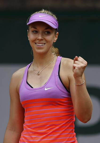 Sabine Lisicki passa il turno battendo in due set Monica Puig (Reuters)