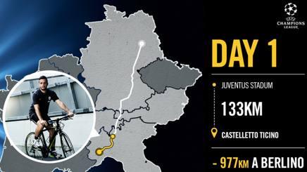 Champions, tifoso della Juventus a piedi fino a Berlino per pagare la scommessa