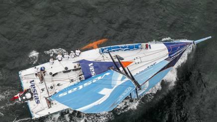 Team Vestas è tornata in navigazione in questa tappa