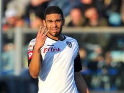 Gregoire Defrel, attaccante francese a metà fra Cesena e Parma. LaPresse