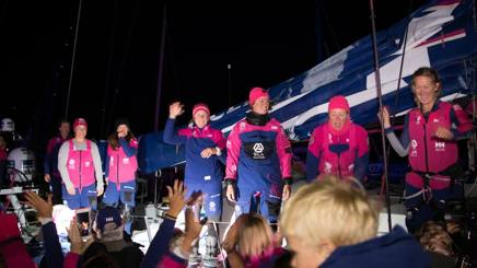 Team Sca festeggia a Lorient