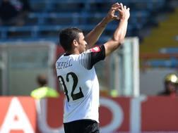 Gregoire Defrel, 24 anni, attaccante del Cesena, ha segnato 9 gol in 35 presenze in serie A. Getty Images