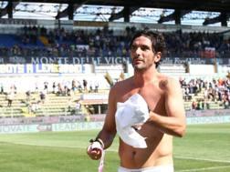 Alessandro Lucarelli dopo l'ultima al Tardini in A. Ansa