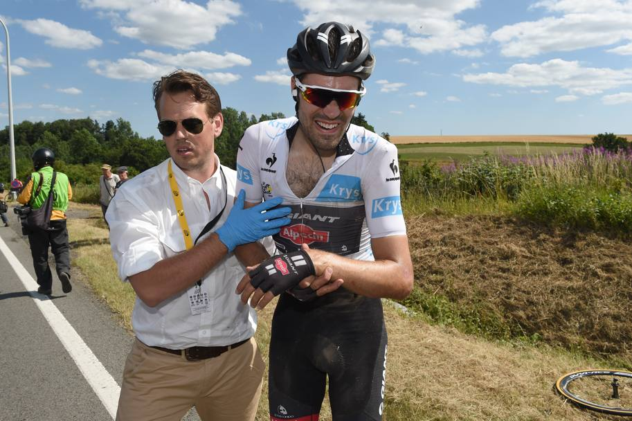 Il Tour di Tom Dumoulin finisce qui. Bettini