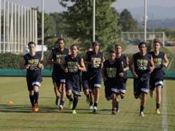 Il Parma impegnato nel primo allenamento della stagione