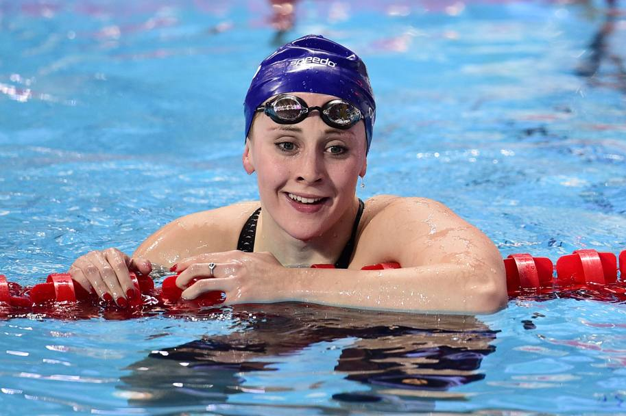 L' inglese Siobhan Marie O'Connor. (Afp)