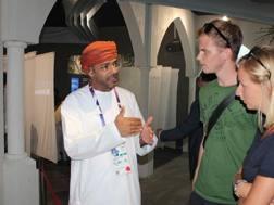 Padiglione dell'Oman: raggiunti i 2 mln di tifosi. OmniMilano