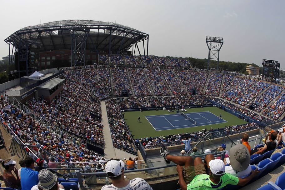 Panoramica sul USTA Billie Jean King National Tennis Center, New York, Stati Uniti. (Reuters)