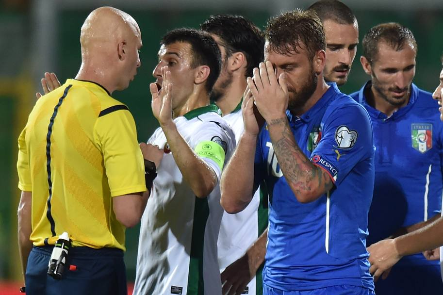 De Rossi si dispera. Getty