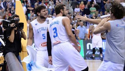 Basket, Europei: Italia-Germania 89-82  Azzurri - La
