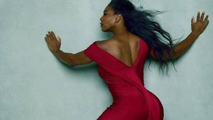 Serena Williams in uno shoot  per Vogue Usa