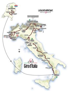 Calendario Giro D Italia.Ecco Il Giro D Italia 2016 Da Apeldoorn Nei Paesi